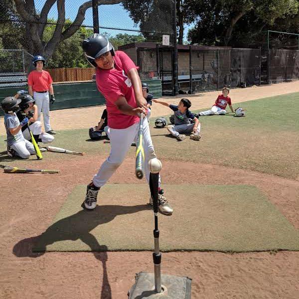 Menlo Park Legends Batting Practice