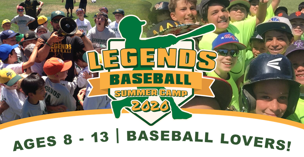 Kids of all ages gathering for the 2020 Legends Baseball Summer Camp